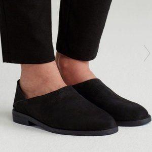 Eileen Fisher Depan nubuck flats loafers slip-on